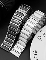 cheap -Watch Band for Gear S3 Frontier Classic Samsung Galaxy Business Band Stainless Steel Ceramic Wrist Strap