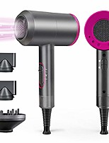 cheap -1800w professional hair dryer with diffuser ionic conditioning - powerful, fast hairdryer blow dryer,ac motor heat hot and cold wind constant temperature hair care without damaging hair
