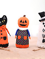 cheap -Halloween Party Toys Halloween Fabric Doll 3 pcs Skull Skeleton Ghost Bat Iron Cotton Kid's Adults Trick or Treat Halloween Party Favors Supplies