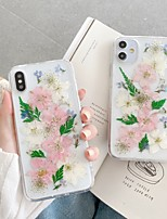cheap -Case For Apple iPhone 11 / iPhone 11 Pro / iPhone 11 Pro Max Pattern Back Cover Flower TPU