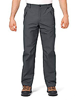 cheap -men's snow ski pants windproof waterproof outdoor hiking pants with zipper pockets dark grey s
