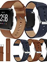 cheap -Watch Band for Fitbit Versa / Fitbi Versa Lite / fitbit versa 2 Fitbit Sport Band Genuine Leather Wrist Strap