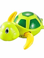 cheap -baby bath swimming bath pool toy cute wind up turtle animal bath toys clockwork chain swimming turtle