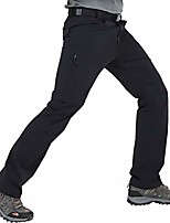 cheap -men's convertible quick dry hiking pants outdoor nylon travel pants with 6 pockets, stretchy and water resistant, black, 28