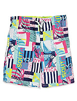 cheap -boys dane printed swim trunk, 4t