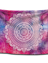 cheap -Wall Tapestry Art Decor Blanket Curtain Picnic Tablecloth Hanging Home Bedroom Living Room Dorm Decoration Polyster Rose Blue Colorful Bohemia Mandala View