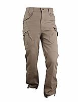cheap -men's assault tactical pants cotton hiking outdoor sport military combat cargo trousers khaki 34w/30l