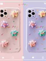 cheap -Case For Apple iPhone 11 Shockproof / Dustproof / Pattern Back Cover Animal Silica Gel For Case iphone 11 Pro/11 Pro Max/7/8/7P/8P/SE 2020/X/Xs/Xs MAX/XR