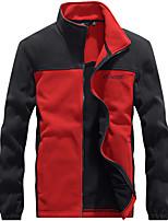 cheap -men's steens mountain full zip 2.0 soft fleece jacket, grill/super sonic, small