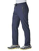 cheap -hiking pants mens workout pants summer pants jogger pants men cycling pants lightweight pants gym pants running pants men zipper pockets blue