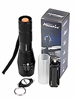 cheap -alonefire g700 xml t6 led tactical flashlight high powered brightest 5 modes water resistant black torch adjustable zoomable focus handheld for home work sports outdoors recreation camping hiking