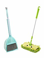 cheap -childrens mop and broom set, pretend play kids broom dustpan toy kitchen toddler cleaning set is a great toy gift for boys girls