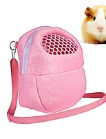 cheap -portable white mesh african hedgehog hamster breathable pet dog carrier bags handbags puppy cat travel backpack (s, white mesh - pink)