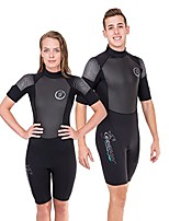 cheap -navigator 3mm shorty | short sleeve wetsuit for men and women | surfing, snorkeling, scuba diving (surfing black, men's 3x-large)
