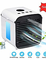 cheap -personal air cooler, personal air conditioner, space air conditioner fan mini fan humidifier portable 3 gear speed, office cooler humidifier & purifier