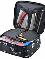 cheap -travel makeup bags cosmetic case organizer portable storage bag cosmetics make up brushes toiletry bag accessories black