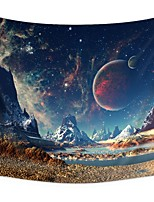 cheap -Wall Tapestry Art Decor Blanket Curtain Picnic Tablecloth Hanging Home Bedroom Living Room Dorm Decoration Polyester Sky Planet Mountain River