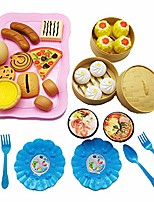 cheap -31pcs children cute kitchen pretend play simulation cake simulation food kitchenware cooking set for kids pink