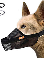 cheap -nose strap dog muzzle prevent from taking off by dogs for small,medium and large breed,stop puppy biting and chewing(green)