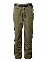 """cheap -men's classic kiwi pants insect-repellent lightweight quick dry trousers with sun protection fabric - dark moss, 30"""" x 30"""""""