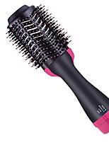 cheap -Hot Air Brush,  Professional Salon Hair Straightener Brush with Negative Ion, 4 in 1 Hair Dryer Volumizer Styler Hair Dryer Brush Straightener Curl Hot Air Hair Brush, 110V
