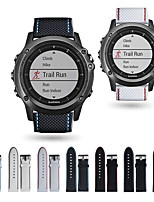 cheap -Watch Band for Fenix 3 HR / Fenix 3 Garmin Sport Band Silicone Wrist Strap