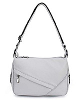 cheap -women's retro sling shoulder bag from , leather crossbody tote handbag grey new