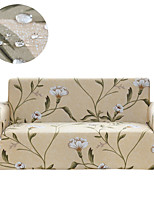 cheap -Stretch Slipcover Sofa Cover Couch Cover Beige Floral Print Dustproof All-powerful Slipcovers Stretch Waterproof Sofa Cover Super Soft Fabric Couch Cover