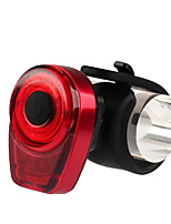 cheap -LED Bike Light Rear Bike Tail Light LED Bicycle Cycling Waterproof Portable New Design Durable USB 10 lm USB Red Multi Color Everyday Use Cycling / Bike
