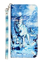 cheap -Case For Apple iPhone 11 iPhone 11 Pro iPhone 11 Pro Max Wallet Card Holder with Stand Full Body Cases Snow Mountain Wolf PU Leather TPU for iPhone 12 iPhone Xs Max iPhone Xr iPhone Xs iPhone X