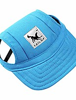 cheap -dog hat pet baseball cap/ dogs sport hat / visor cap with ear holes and chin strap for small dogs (size s, blue) by happy hours