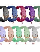 cheap -Watch Band for Samsung Galaxy Watch 42mm Samsung Galaxy Classic Buckle Silicone Wrist Strap