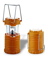cheap -camping lantern - fully collapsible with 7 led lights, weighs only 6 oz.