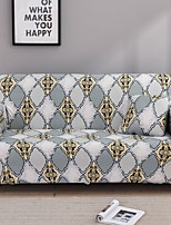 cheap -Stretch Slipcover Sofa Cover Couch Cover Rhombus Printed Sofa Cover Stretch Couch Cover Sofa Slipcovers for 1~4 Cushion Couch with One Free Pillow Case