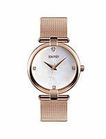 cheap -women's quartz watches analog stainless steel watch fashion luxury dress waterproof watches for women