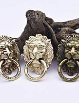 cheap -Universal Lion Head Metal Mobile Phone Stand 360 Degree Rotating Finger Ring Bracket Support for Cell Phone Tablet