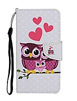 cheap -Case For Samsung Galaxy S20 S20 Plus S20 Ultra Wallet Card Holder with Stand Full Body Cases Owl Family PU Leather TPU for Galaxy A21 A11 A01 A51 A71 A41 A31 A21S