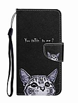 cheap -Case For Samsung Galaxy S20 S20 Plus S20 Ultra Wallet Card Holder with Stand Full Body Cases Gray Cat PU Leather TPU for Galaxy A21 A11 A01 A51 A71 A41 A31 A21S