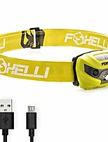 cheap -usb rechargeable headlamp flashlight - super bright & lightweight head lamp, perfect for running, camping & work, up to 30 hours on a single charge