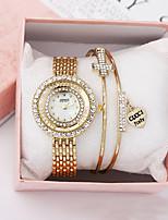 cheap -Women's Quartz Watches Quartz Modern Style Stylish Minimalist Chronograph Analog Rose Gold Gold Silver