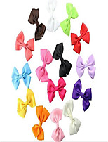 cheap -handmade rib belt dog bow hairpin pet hair bows dog accessories pet grooming products 15/30pcs random