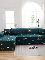 cheap -Stretch Slipcover Sofa Cover Couch Cover Star Printed Sofa Cover Stretch Couch Cover Sofa Slipcovers for 1~4 Cushion Couch with One Free Pillow Case