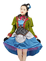 cheap -Inspired by Alice's Adventures in Wonderland Anime Cosplay Costumes Japanese Cosplay Suits Costume For Women's
