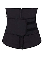 cheap -women's adjustablelatex waist trainer/cincher/corsets shaper weight loss sports girdle