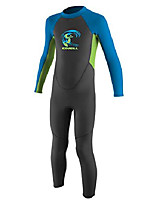 cheap -o'neill toddler reactor-2 2mm back zip full wetsuit, blue/slate/coral, 1