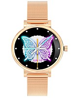 cheap -W06 Women Smartwatch for Android/ IOS/ Samsung Phones, Bluetooth Fitness Tracker Support Heart Rate/ Blood Oxygen Measurement