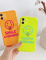 cheap -Case For Apple iPhone SE 2020 iPhone 11 Pro Max XS Max XR X 7 8 Plus   Transparent Pattern Back Cover Word Phrase TPU