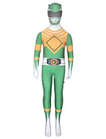 cheap -Inspired by Power Rangers Mighty morphin Anime Cosplay Costumes Japanese Cosplay Suits Zentai For Boys' Girls'