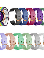 cheap -Watch Band for Samsung Galaxy Watch 46mm / Samsung Galaxy Watch 42mm / Samsung Galaxy Active Samsung Galaxy Modern Buckle Silicone Wrist Strap