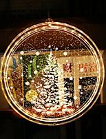 cheap -Christmas tree Bell Santa Claus 3D Nightlight Night Light Christmas Wedding Decoration New Year's 1pc